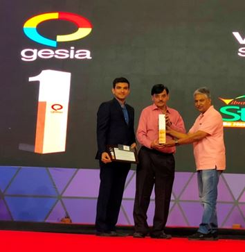 Best Electronics Industry Award – By GESIA