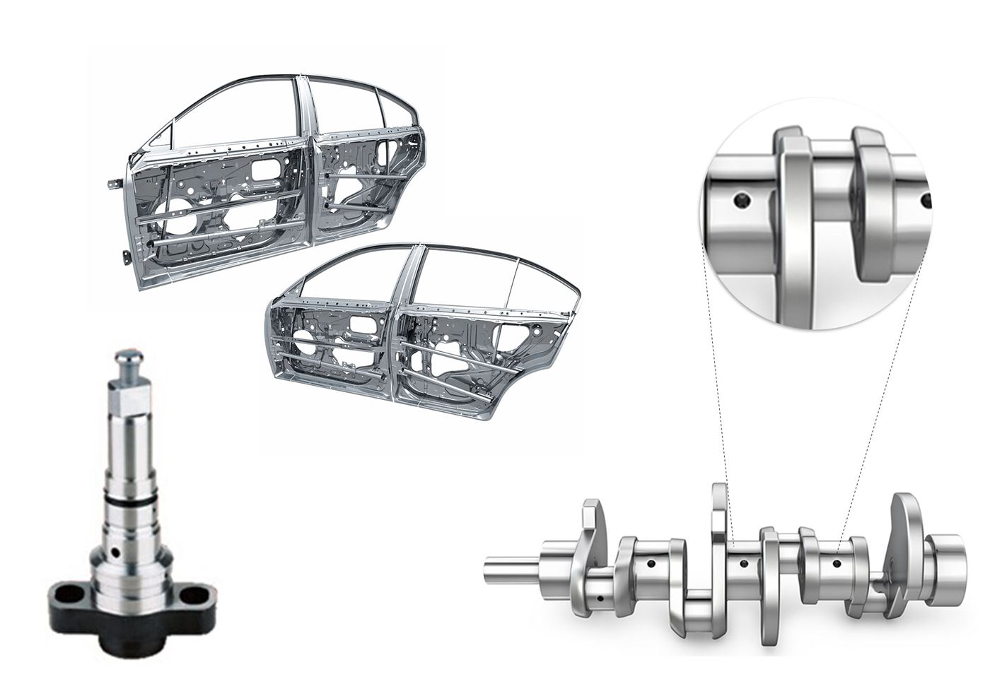 Highly efficient welding for Automobile components