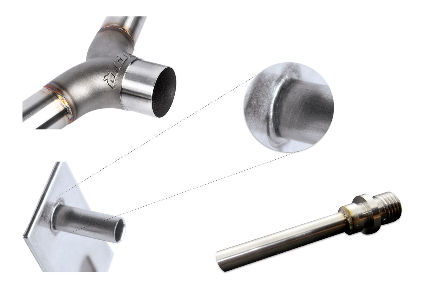 High quality welds for tubes and pipes