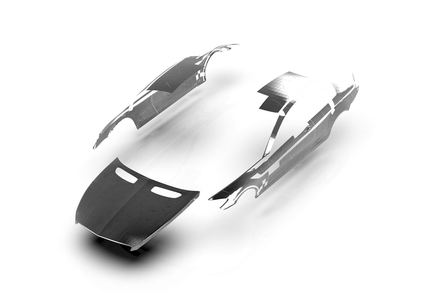Dynamic Edge For  Automotive Components