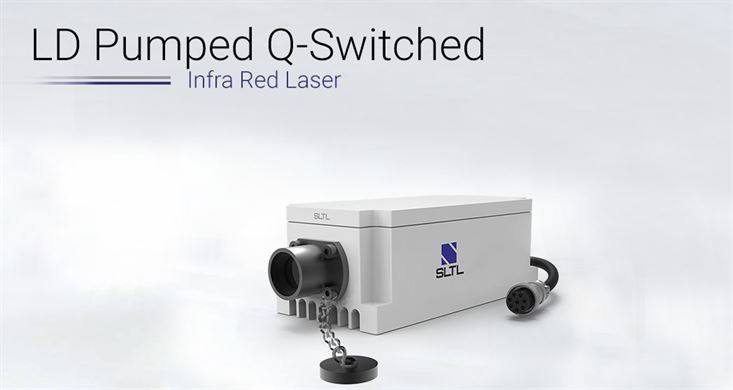 LD PUMPED Q-switched IR LASER